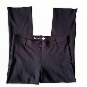 Betabrand Pants Black Small Women's Cropped